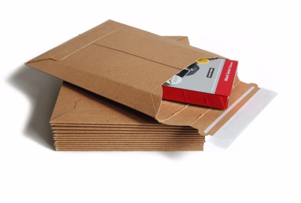 self-adhesive kraft mailers