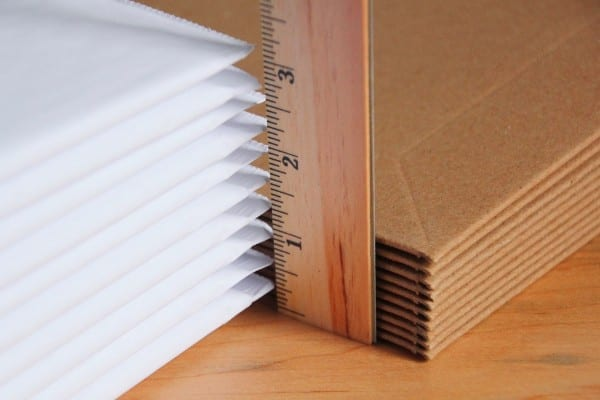 stayflat paperboard packaging