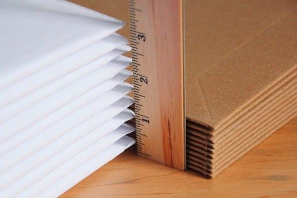 stayflat paperboard packaging